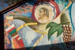 Ładne graffiti można zobaczyć w wielu miejscach Tarija