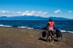 Jezioro Llanquihue i wulkan Osorno