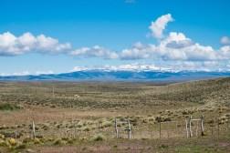 Pasmo Andów widoczne z Ruty 40