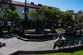 Leniwy, popołudniowy klimat centrum miasta