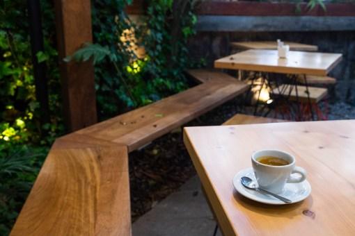 Wnętrze jednej z kawiarni w dzielnicy La Floresta