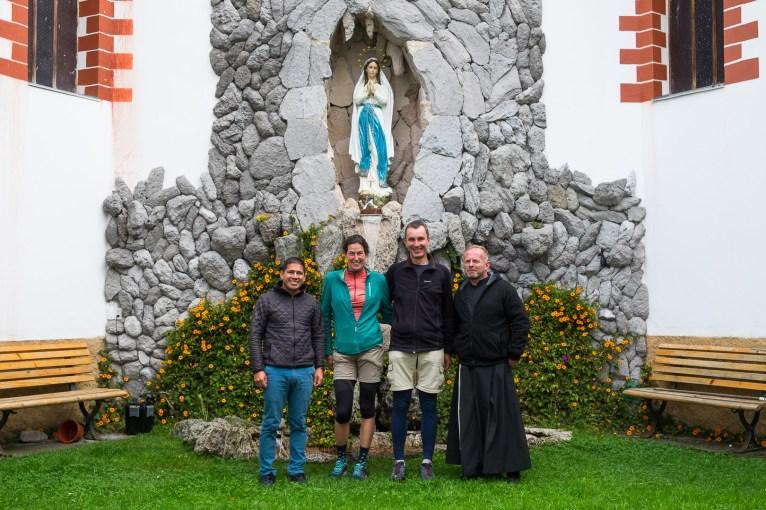 Pożegnanie w Tulcán