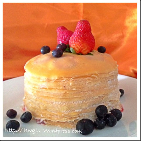 Mille Crepe Cake (米勒千层蛋糕)