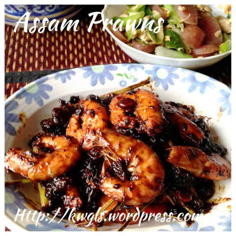 Cantonese Classic Sweet And Sour Pan Fried Prawns aka Har Loke ( 干煎茄汁虾禄)