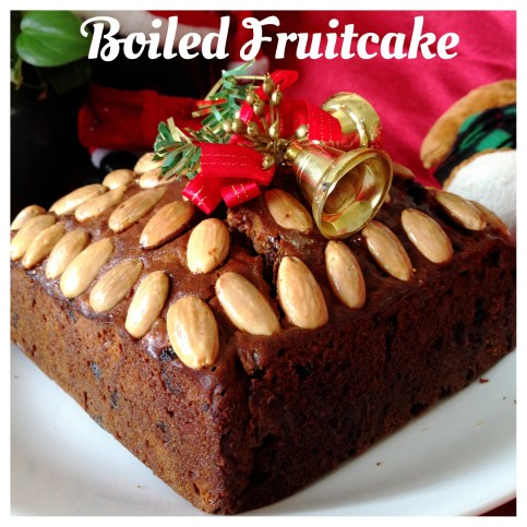 Boiled Fruits And Nuts Cake (圣诞杂果蛋糕)