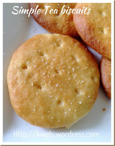 Homemade Plain Tea Biscuits (家居自制基本茶饼)