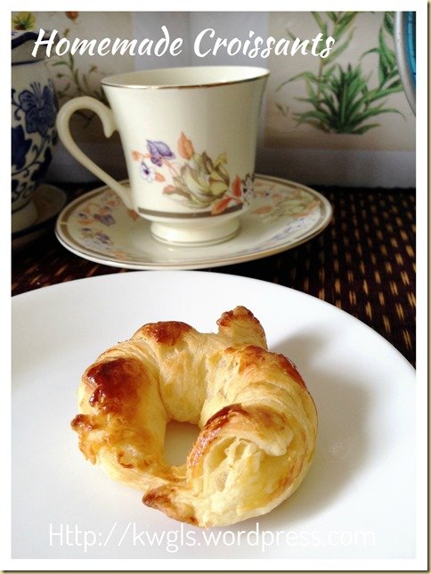 Home Made Croissants (家居自制牛角包)