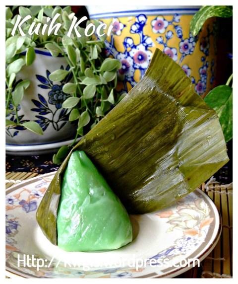 You Seen This Glutinous Rice Cake Before–Hainanese Coconut Kuih or E Bua or Yi Ba (海南薏粑粿)