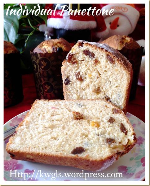 Individual Panettone (意大利圣诞面包)