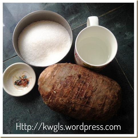Playing With Recrystallization of Sugar–Sugar Coated Yam Sticks (反沙芋头)