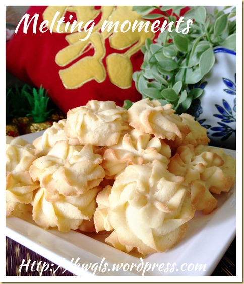 Traditional Cookies That Bring Fond Memories– Melting Moments aka Basic Butter Cookies
