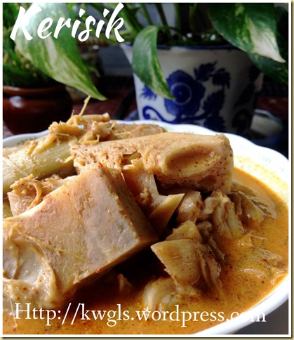 Coconut Become Butter ?–Kerisik (椰子酱)