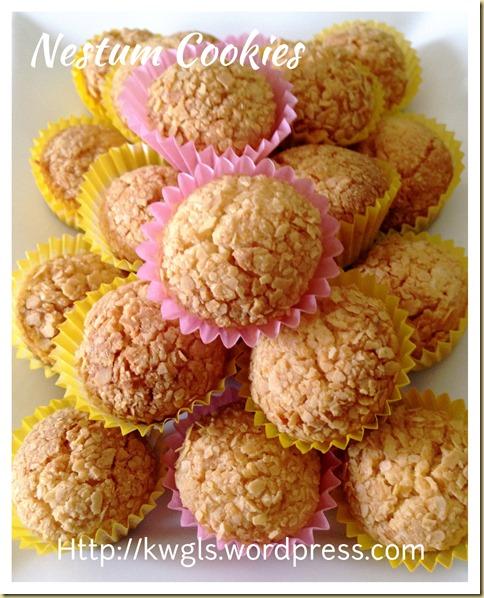 Nestum Cereal Cookies (麦片饼干)