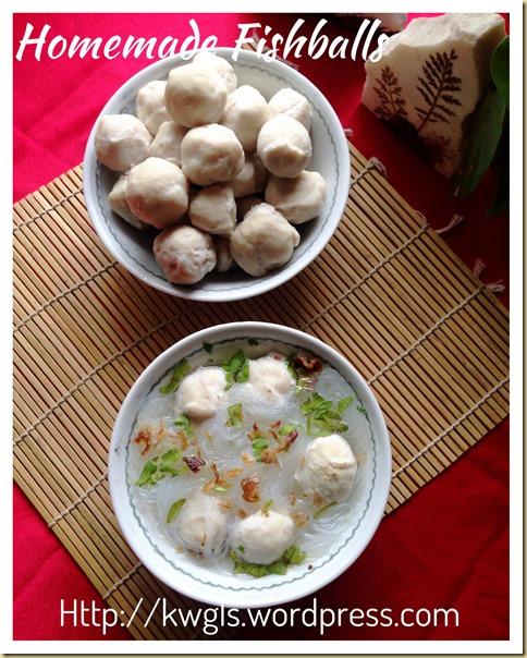 Homemade Fish Balls (传统自制鱼丸)