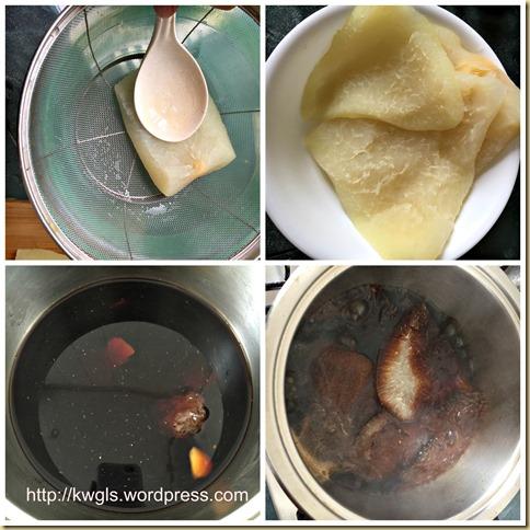 Braised Pomelo Pith (卤柚子皮)