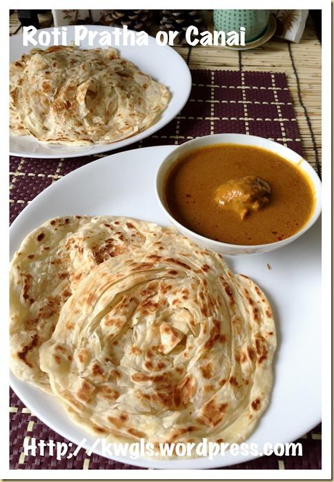 Roti Prata, Roti Canai, Roti Paratha , Roti Parotha (印度煎饼,手抓饼, பராத்தாவை )