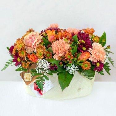 kompozycja kwiatowa zamow kwiaty raciborz i okolice