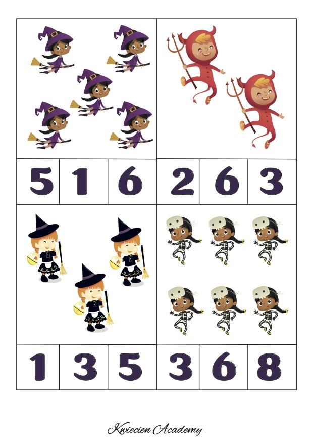 Halloween - matematyka klamerkowa