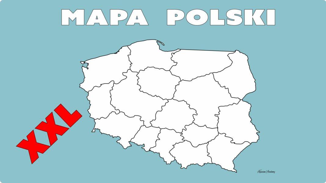 Pobierz mapę Polski