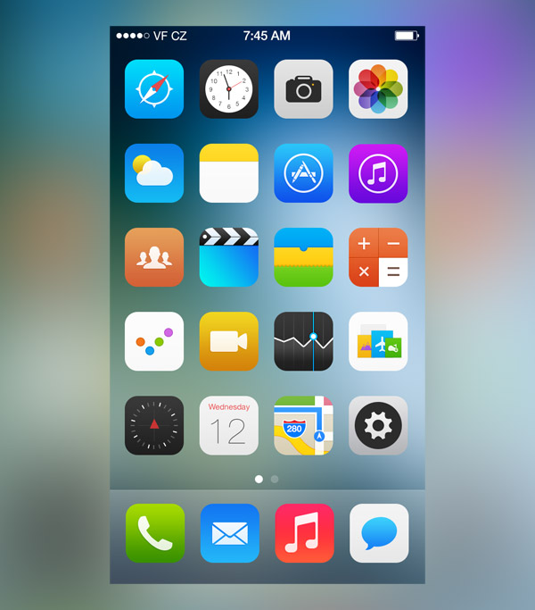 iOS Icons by Jackie Tran Anh
