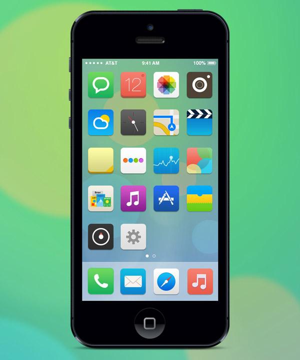 My Own iOS7 by Juan Pisanu