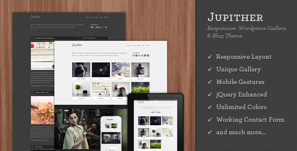 jupither 35 Impressive WordPress Themes of April 2012