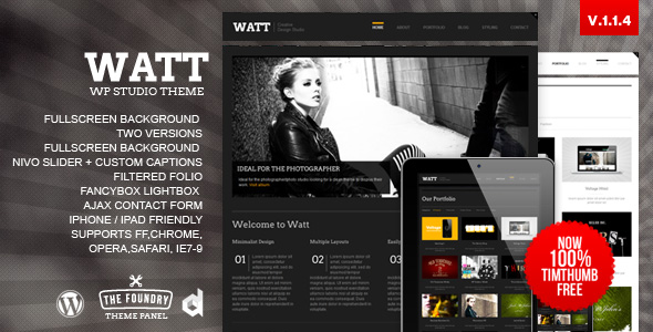watt 35 Impressive WordPress Themes of April 2012
