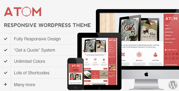 atom 35 Impressive WordPress Themes of April 2012