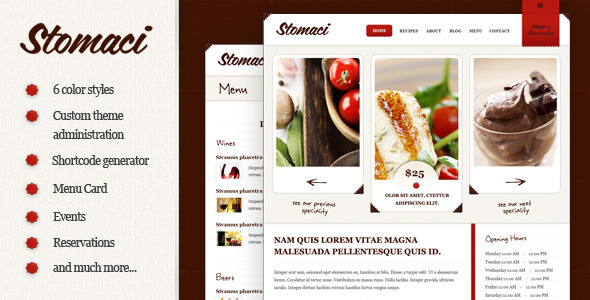 stomaci 35 Impressive WordPress Themes of April 2012