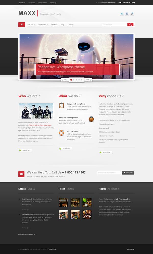maxx Best 30 WordPress Themes of June 2012