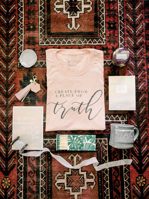Swag bag from illume retreat // My Top 5 Take-Aways from Illume Retreat
