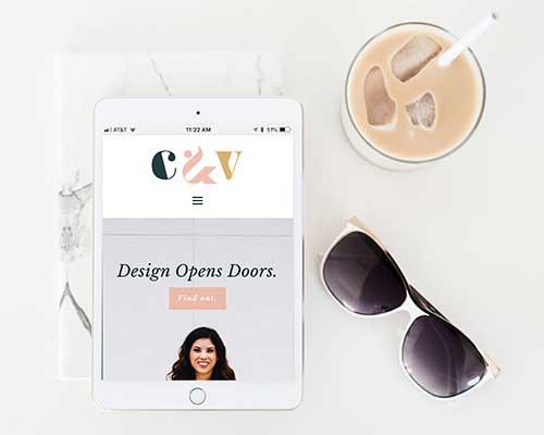 C&V Creative portfolio icon