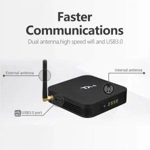 TANIX TX6 Android Smart TV Box