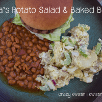 #SundaySupper Papa's Potato Salad & Baked Beans #Tailgating