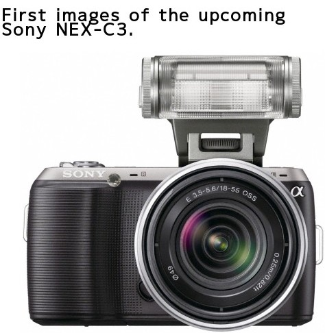http://www.mirrorlessrumors.com/first-images-of-the-upcoming-sony-nex-c3/