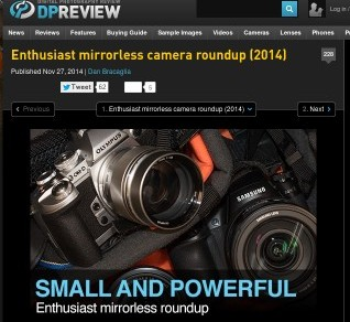 http://www.dpreview.com/articles/0657309050/enthusiast-mirrorless-camera-roundup-2014