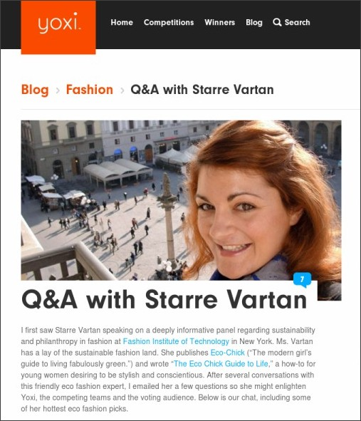 http://yoxi.tv/blog/post/qa-with-starre-vartan