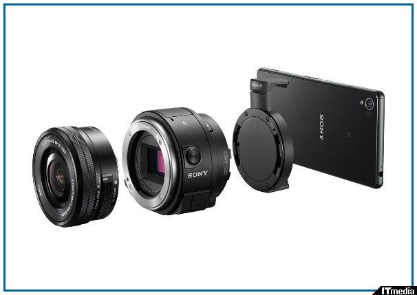 ニー、レンズ交換式・APS-Cのレンズスタイルカメラ「QX1」国内発売