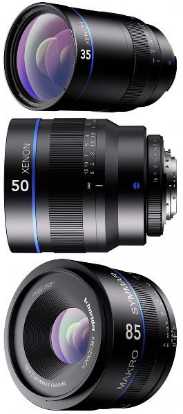 Schneider Kreuznach announced three new lenses for DSLR cameras