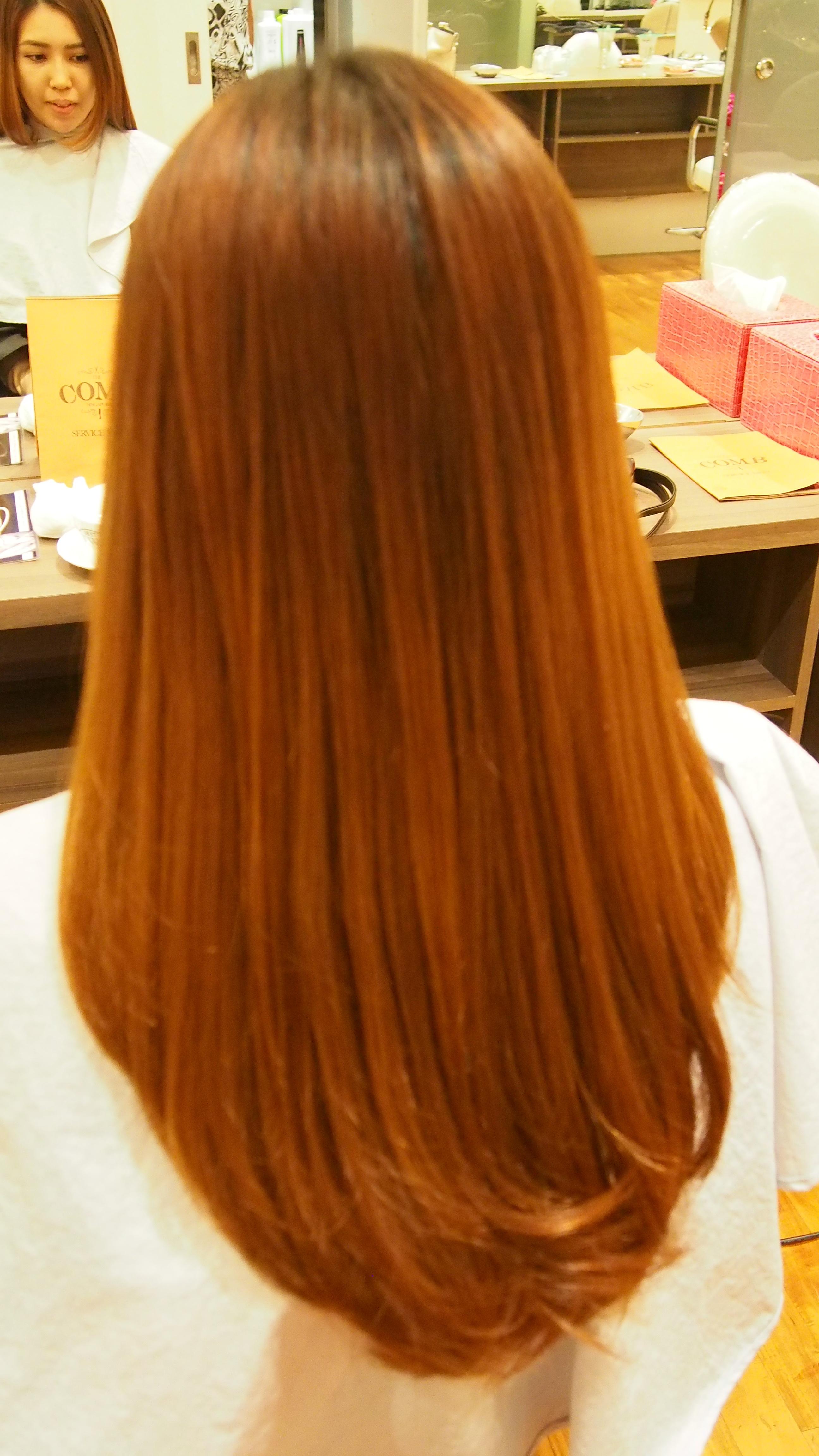 Review The Comb Hair Studio Volume Rebonding
