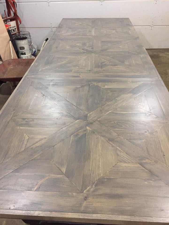 Custom Farmhouse Table Delaware