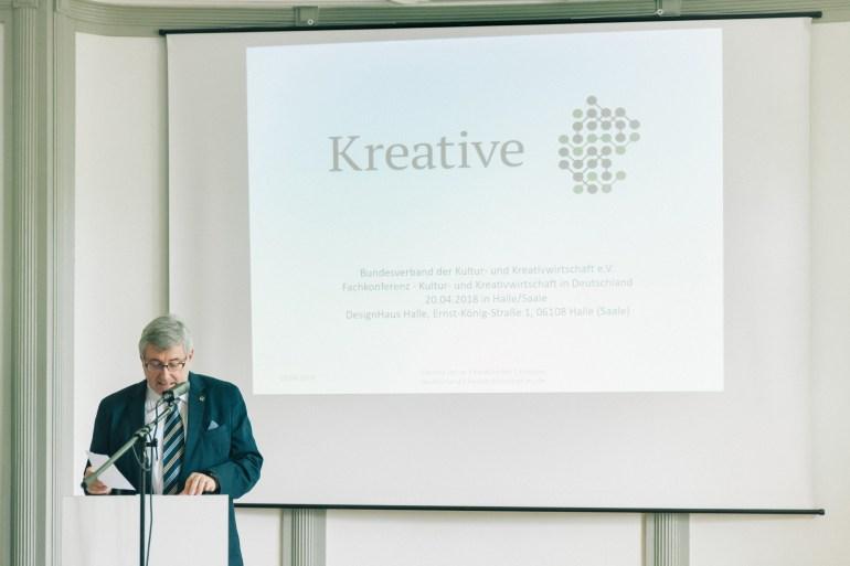 Fachkonferenz – Kultur- und Kreativwirtschaft in Deutschland am 20.04.2018 in Halle (Saale) Slide 10