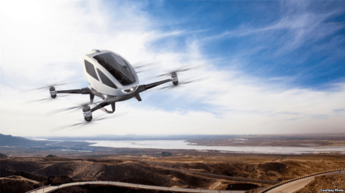 Dubai to Launch Self-Flying Air Taxi by July