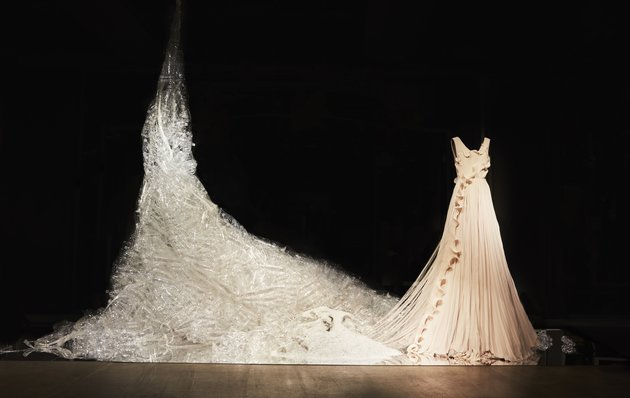 This Stunning H&M Gown Is Made From Plastic Waste