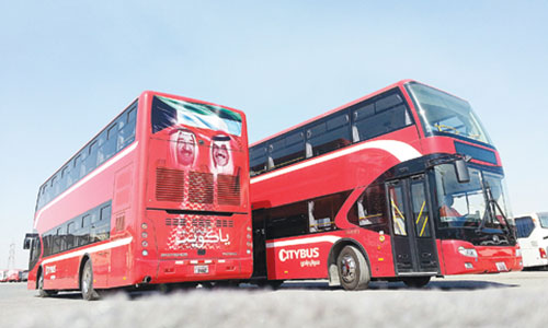 City Group launches double decker buses in Kuwait - Kuwait Today