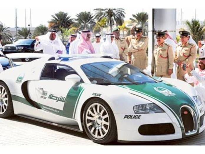 Dubai now officially has the fastest police car in the world