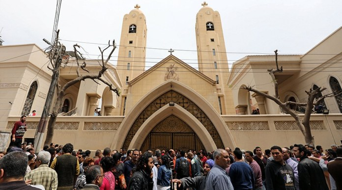 Palm Sunday bombings kill at least 22 in Cairo and Alexandria