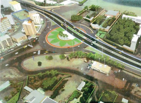 Bidaa Roundabout project to be completed in January 2019