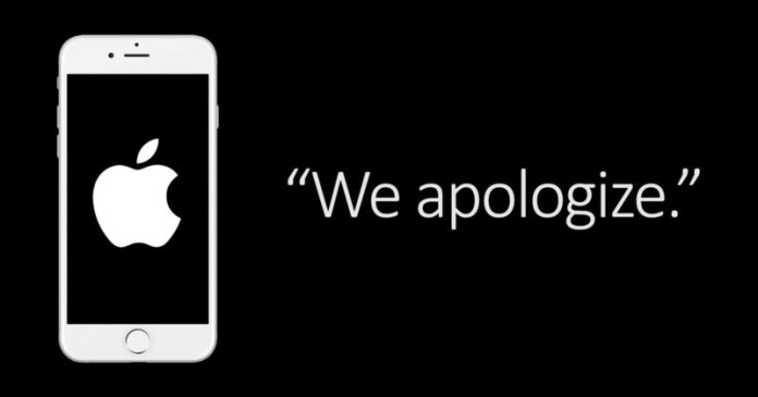 Apple apologizes for slowing iPhone