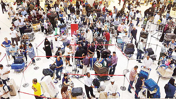 Airport expects 234,000 travelers on national holidays